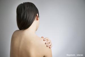 Pain In The Women's Shoulder